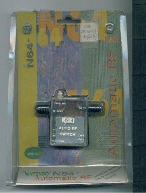 Automatic RF Modulator Nintendo N64 Made by Naki