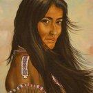 Indian Woman (Artist-J. Ader)