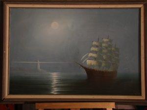 Sailing In The Mist (Artist-P. Davis)