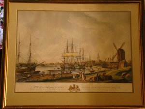 To The King's Moft Excellent Majesty (Lithograph) Large and Nice