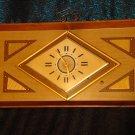 1920's ART DECO METRIC STYLE LIGHTED CLOCK (RARE)
