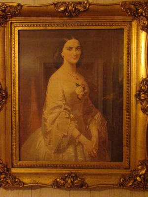 Elegant Lady ( Signed by Artist)