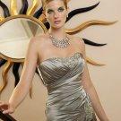 V0099 High Quality Floor-length Satin Mermaid Mother Dresses