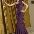 V0114 Elegant One-sholder Organza Mermaid Mother Dresses