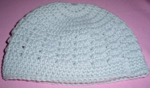 Mens Beanie Hat Light Grey