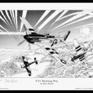 Woron's P-51 MUSTANG'S PREY~S&N'd ED. of only 30~Hurry!