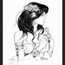 JANETTE~Fantasy Gothic Art~SIGNED Artist Proof byWoron
