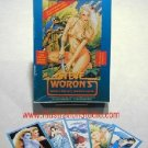 Woron's FULL Foil BOX (Bettie Page)+25 SIGNED CardsFree