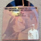 """An Officer & Gentleman """"UP Where We Belong""""45 RPM~Vinyl"""