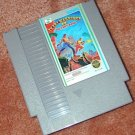 IKARI WARRIORS 2 old NES game+FREE SIGNED Trading CARD!