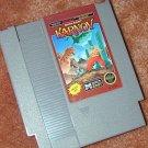 KARNOV NES arcade game+FREE SIGNED Trading CARD