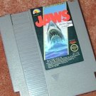JAWS classic NES Horror game+FREE SIGNED TRADING CARD!