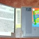SESAME ST. 123 NES KIDS game+FREE SIGNED TRADING CARD!