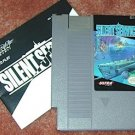 SILENT SERVICE sub NES game+FREE SIGNED TRADING CARD!