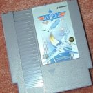 TOP GUN original NES game+FREE SIGNED TRADING CARD