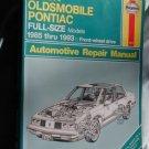Buick Oldsmobile Pontiac FULL-SIZES 85-93 repair manual