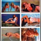 SWIMSUITS and MERMAIDS 6 ErROr Promo Card Set~Recalled!