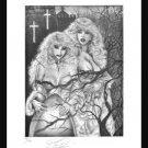 Paresi's #2 of 7 VAMPIRE fantasy print S/N'd 2 for1 BIN