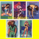 Steve *Woron's Universe* Promo 5 Card Undistributed Set