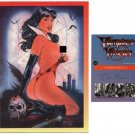 Nude Vampirella- SIGNED Mail In Card-SCARCE! No really!