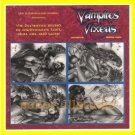 Scarce PROMO SELL Sheet~SIGNED Don Paresi VAMPIRES & VIXENS 4 Card