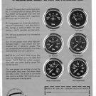 "Vintage SUN PROFESSIONAL INSTRUMENTS 2"" Gauges 1973 Advertisement +FREE Ad!"