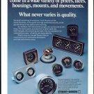 Vintage STEWART-WARNER Racing Gauges & Instruments, 1973 Advertisement +FREE Ad!