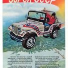 """Vintage JEEP """"Toughest 4 Letter Word"""" 1973 Racing Advertisement +FREE Ad!"""