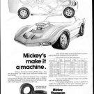 Vintage MICKEY THOMPSON TIRES 1973 Advertisement +FREE Ad!