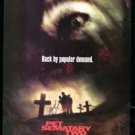 PET SEMATARY 2 Original Trimmed Paper Movie Advertisement 1992 Anthony Edwards