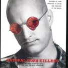 NATURAL BORN KILLERS Original Trimmed Paper Movie Advertisement 1994 Harrelson