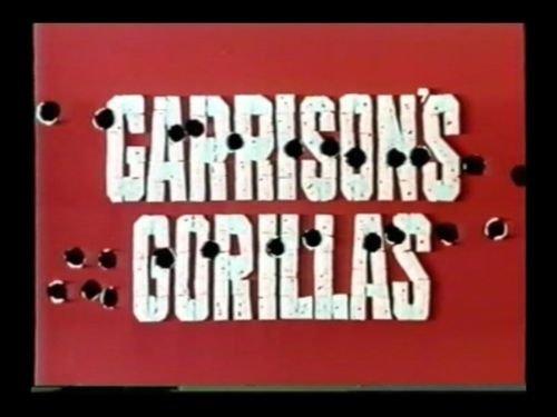 GARRISON'S GORILLAS WWII TV Complete Series+Unaired Pilot~Ron Harper 15 DVDs
