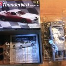 #6296 AMT Ford Thunderbird Stock Car 1/25 Scale Plastic Model Kit