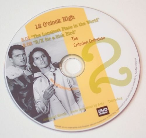 12 O'CLOCK HIGH TV Series-Delux CRITERION Ultimate Gift Edition~41 Picture DVDs!