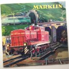 Vintage MARKLIN 1963/64 CATALOGUE, TRAINS & DIE-CAST with Catalog Refund Coupon