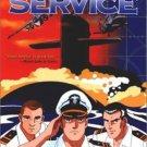The Silent Service; Japan animation VHS 1998 US Manga: nuclear submarines