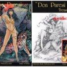 *SCARCE* The Don Paresi Treasury #1 Both Covers+Signed Card (Good Girl/Bad Girl)