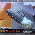 LevelOne WNC-0500USB MIMO Wireless USB Adapter **MISB**