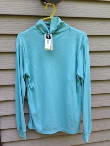 Women's SM SMALL~TEAL Color SEPARATE ISSUE Long Sleeve Shirt