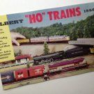 Vintage GILBERT HO MODEL RAILROADS TRAINS 1956 Catalog EXC Condition