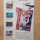 SYLVESTER & TWEETY SEGA GENESIS Game Original Trimmed Paper Advertisement 1994