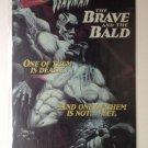 LOBO and DEADMAN-The Brave & the Bald Original Trimmed Paper Advertisement 1993