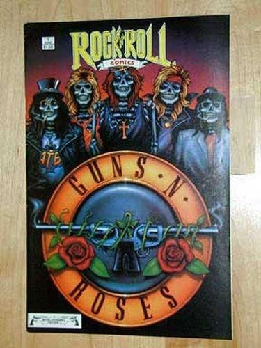 GUN 'N' ROSES 1989 ROCK N ROLL Comics #1~Hard to Find-NM Condition! 2nd Printg