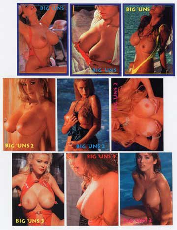 Ultimate BOOBS; all the Big Uns PROMO card Sets 1, Set 2 and Set 3!!!