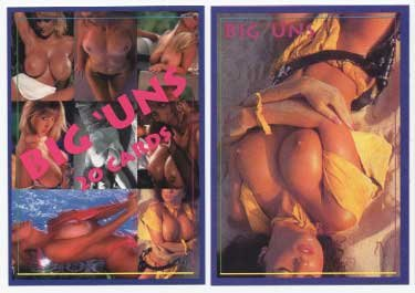 Super Busty Boobs** BIG UNS set 1 of 3 Adult Trading Card Set* WOW!