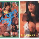 Super Busty Boobs** BIG UNS set 3 of 3 Adult Trading Card Set* WOW!