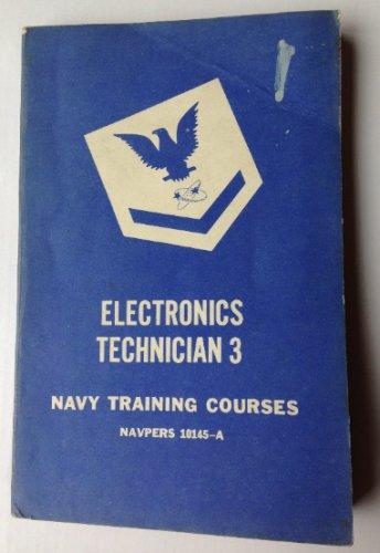 ELECTRONICS TECHNICIAN 3 -1952 U.S. NAVY Training Course Book US Govt. COLD WAR!