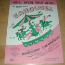 You'll Never Walk Alone-CAROUSEL Sheet Music~Rodgers & Hammerstein