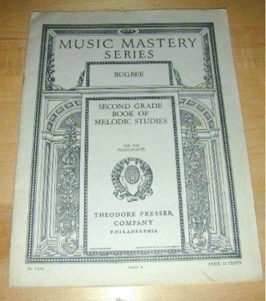 MUSIC MASTERY SERIES-2nd Grade Melodic Studies~1915 PA.