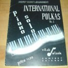 INTERNATIONAL POLKAS~Piano Solo No.1~'42~Joseph PElsnic